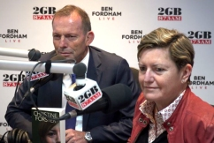 WATCH | Tony Abbott and Christine Forster open up on their relationship