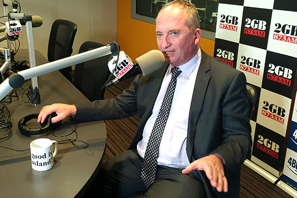 Article image for Barnaby Joyce joins the fight against the government's vaping ban