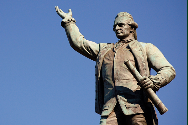 Article image for Black Lives Matter protests reignite debate over Captain Cook statues