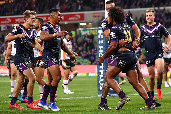 Article image for Peter V'landys says Melbourne Storm will stay out of Victoria indefinitely