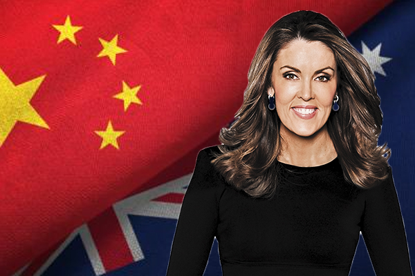 Article image for Peta Credlin applauds top official's honesty about threat of war with China