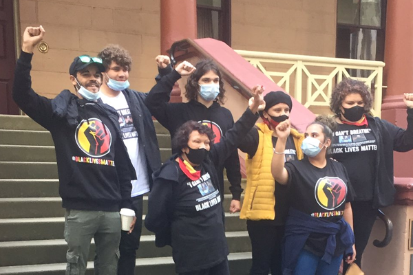 Article image for Greens MPs sponsor BLM protesters to gather at Parliament House