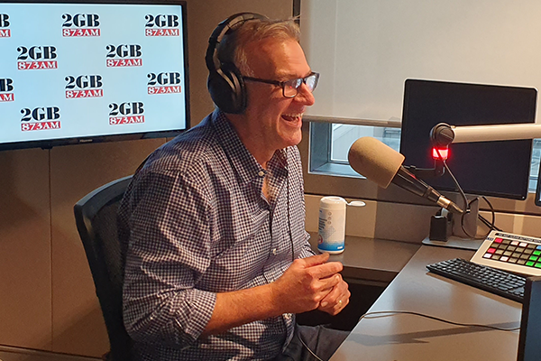 Article image for STARTS TODAY | Jim Wilson takes the reins of 2GB Drive