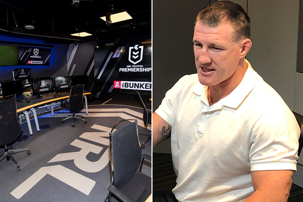 Article image for 'Technology's here to stay': Paul Gallen defends NRL bunker