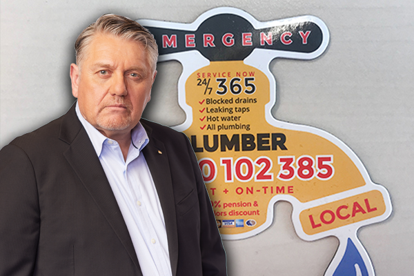 Article image for Ray Hadley's warning for listeners after Plumbing Detectives exposed