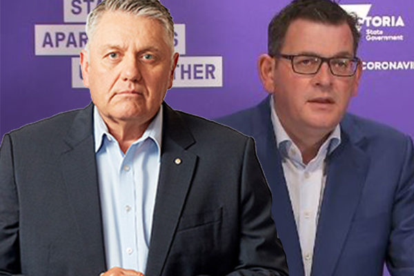 Article image for 'This stinks!': Ray Hadley blasts 'sheer stupidity' of Daniel Andrews