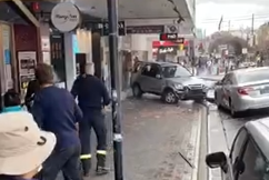 WATCH | Terrifying moment SUV plows through Eastwood storefront caught on camera