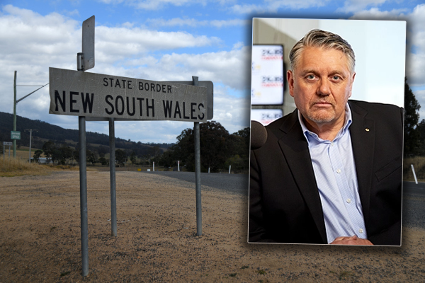 Article image for 'It needs to be shut right now!': Ray Hadley exposes border loophole