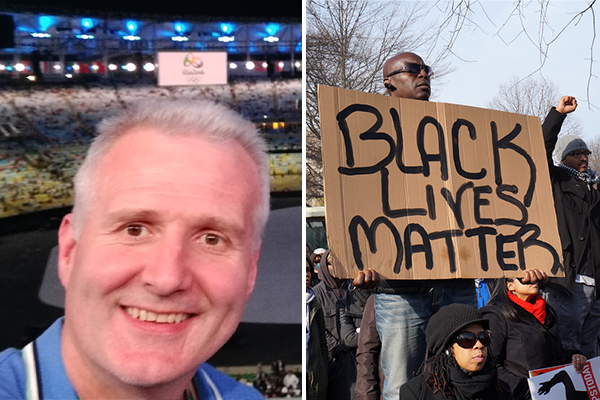Article image for Aussie basketball legend throws his support behind BLM protests