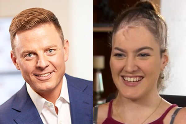 Article image for A decade on: The 'incredible' Sophie Delezio catches up with Ben Fordham