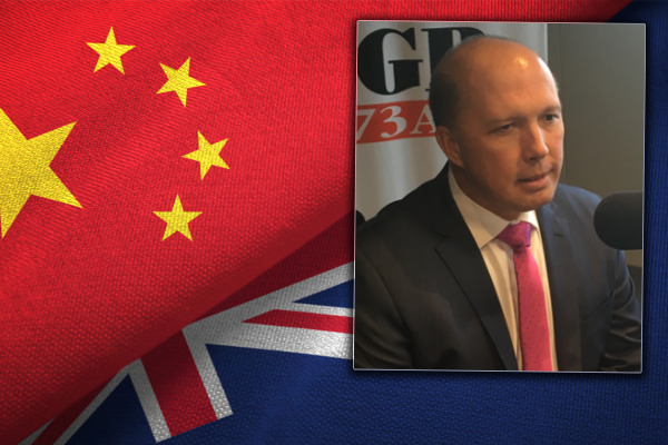 Article image for Peter Dutton welcomes crackdown on university deals with China
