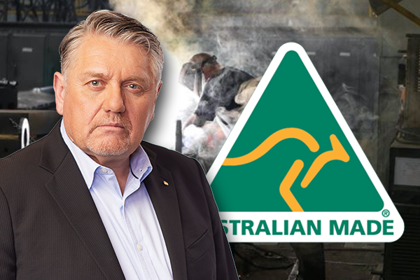 Article image for Ray Hadley demands return to Aussie manufacturing amid foreign-made ferry chaos
