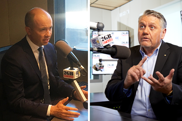 Article image for 'He's stark raving mad!': Ray Hadley blows up at Matt Kean's gas snub
