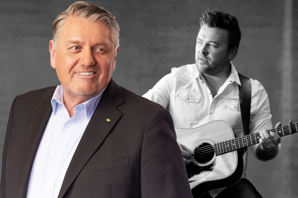 Article image for Ray Hadley moved by country musician's powerful message
