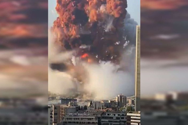 Article image for Massive explosion rocks Beirut, thousands injured