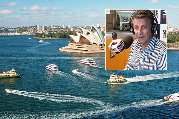 Article image for Andrew Constance says 'ridiculous' ferry design is 'fair enough'