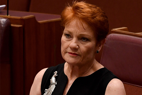 Article image for Pauline Hanson's emotional retelling of prison experience