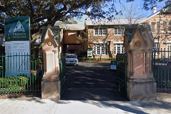 Article image for Trinity Grammar School teacher arrested over alleged online grooming