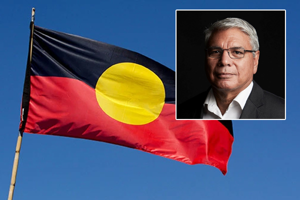 Article image for Warren Mundine offers solution to free Aboriginal flag from copyright claim