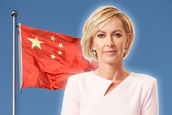 Article image for Deborah Knight confronts Labor leader over soft response to China