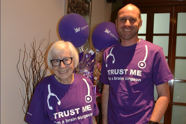 Article image for 99-year-old cancer survivor's inspirational quest