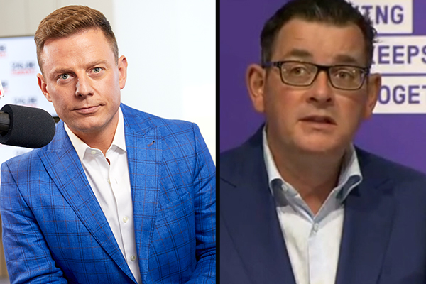 Article image for Ben Fordham condemns violent threats against Daniel Andrews