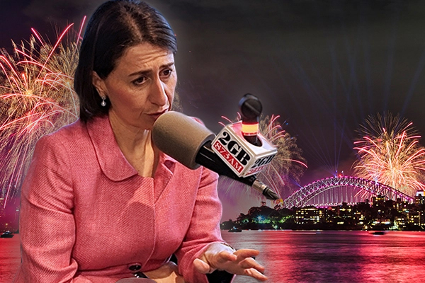 Article image for Premier says Sydneysiders could be asked to stay home if NYE fireworks go ahead