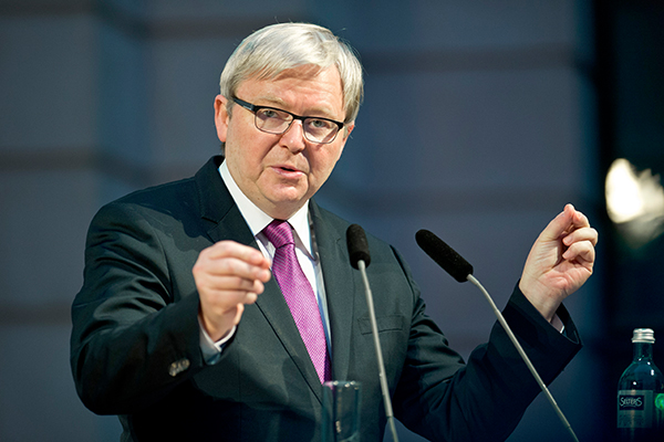 Article image for Kevin Rudd urges government to push on with planned super increase