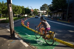 Resident outrage after third person hit on controversial cycleway
