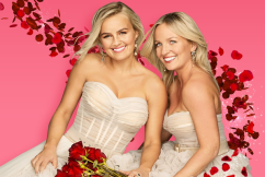 Kissing COVID-safely in the Bachelorette bubble