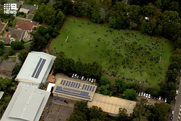 Article image for Exams halted as schools evacuated after 'threatening' email