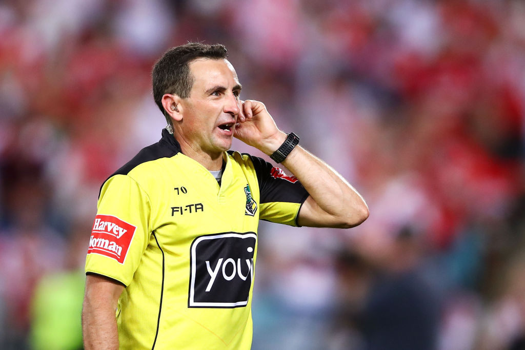 Article image for NRL Grand Final referee reveals his 'perfect outcome'