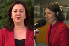 Gladys Berejiklian has 'no intention' of repeating QLD Premier's mistakes