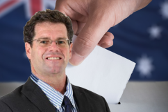 Peter Gleeson makes a 'cheeky' wager ahead of Queensland election