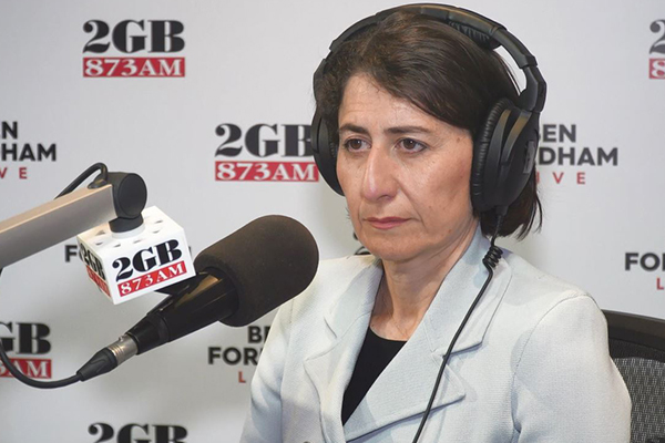 Article image for NSW Premier Gladys Berejikian bares all in candid interview with Ben Fordham