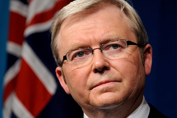 Article image for Kevin Rudd says he never met Jeffrey Epstein amid donation revelation