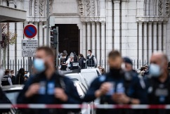 Scott Morrison condemns 'cowardly' terror attack after three killed in French church