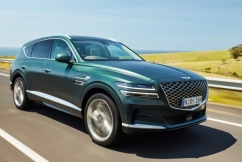 Genesis unveils its new G80 luxury sedan and its first SUV, the large GV80