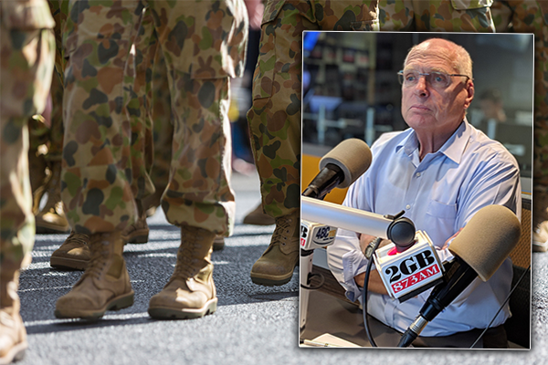 Article image for Retired Major General empathises with comrades caught up in war crime allegations