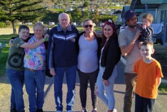 'Tears of joy' for family separated by Queensland border restrictions