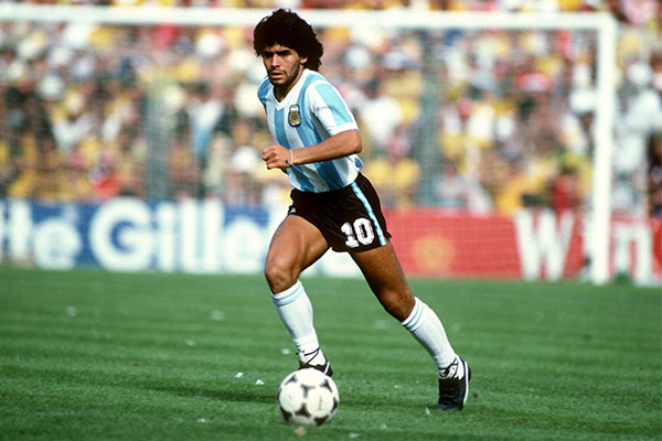 Article image for Tributes flow for soccer legend Diego Maradona