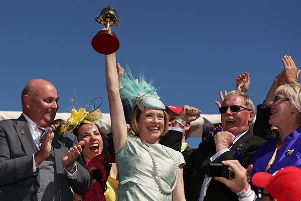 Article image for Gai Waterhouse slams Victoria ahead of crowdless Melbourne Cup