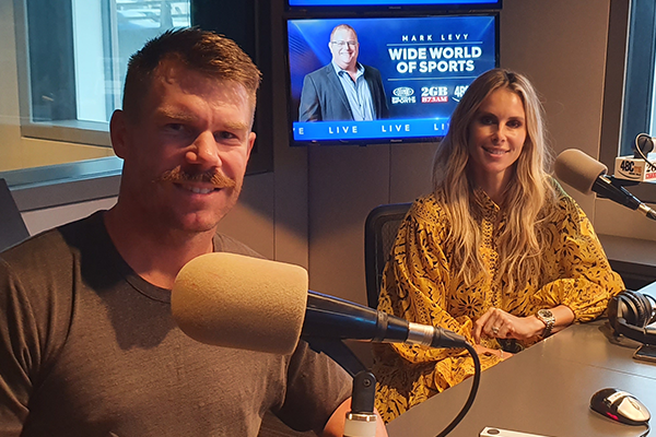 Article image for Australia's 'most talked-about groin': Candice Warner tells all