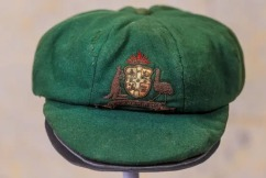 Sir Donald Bradman's baggy green sells for record price