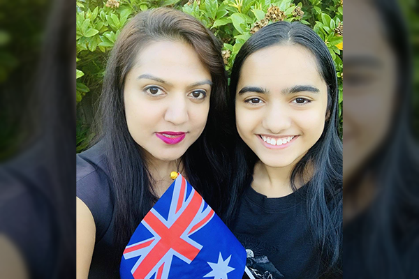 Article image for New citizens embrace 'privilege' of becoming Australian