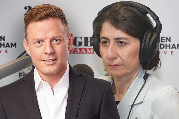 Article image for Ben Fordham breaks QLD border news live on air to surprised NSW Premier