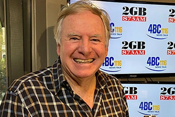 Article image for 2GB host Graham Ross 'thrilled' by Australia Day honour