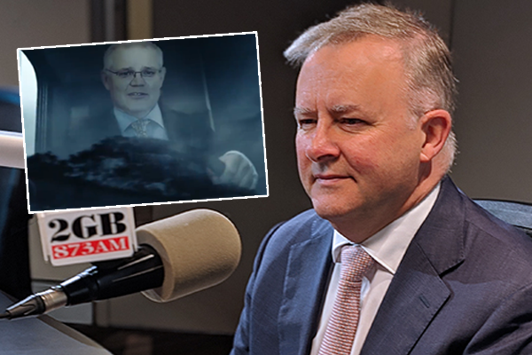 Article image for Anthony Albanese claims ignorance of controversial union ad