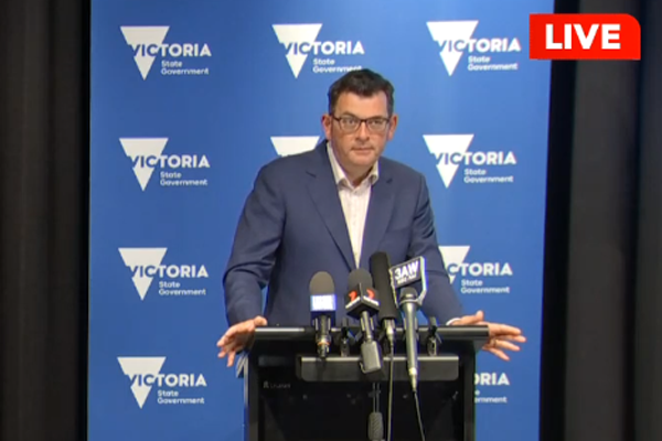 Article image for Daniel Andrews' boasts 'come back to bite him' as Victoria enters new lockdown