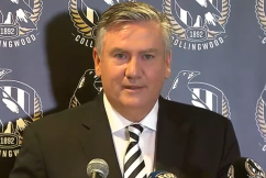 'My heart has been true': An emotional Eddie McGuire steps down as Collingwood president